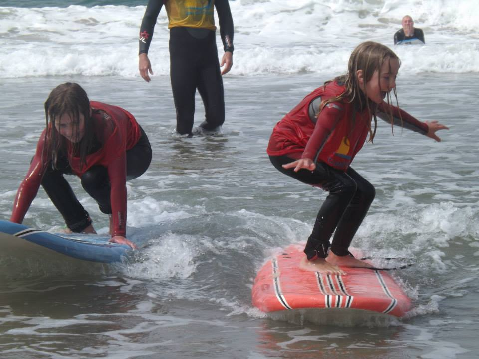 surfing in Northern Ireland