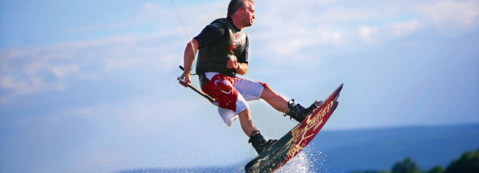 The Fermanagh Lakes are perfect for Wakeboarding, one of the most exciting forms of water sport.