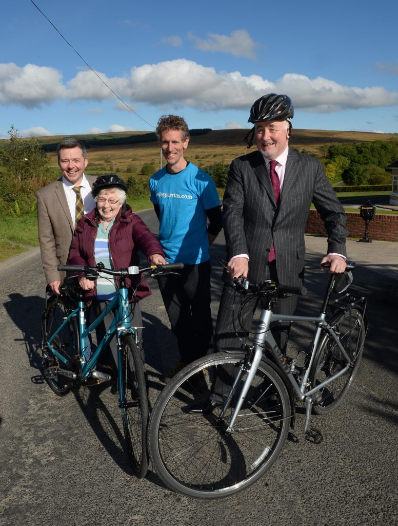 Cycle Sperrins is a fantastic tourism initiative in Mid Ulster