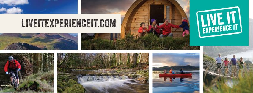 Live It Experience It - promotes land, air and water based activities in Northern Ireland, food and drink and great places to stay