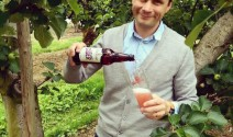 Greg-MacNeice-of-Mac-Ivors-Cider-Co-with-the-new-Plum-and-Ginger-range.-MGMPR-20160622-WA0005-710x534