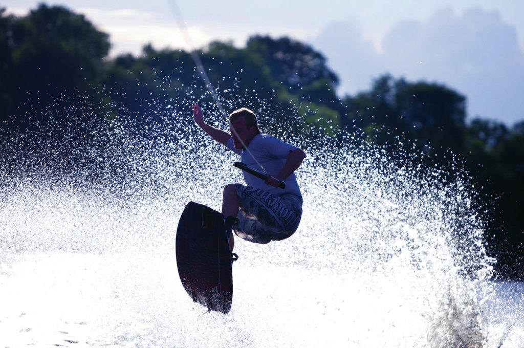 Activities in Northern Ireland - Wakeboarding in Fermanagh