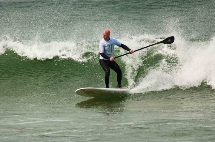 BLOG - John Bustard SUP - who has been a great friend of Live It Experience It
