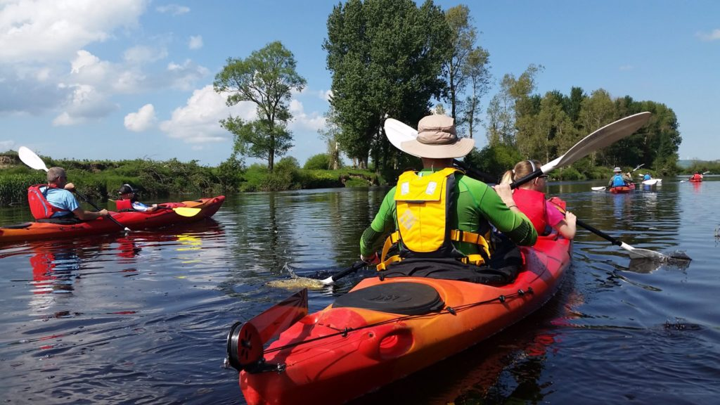 Far and Wild Eco tourism provider- kayaking river foyle