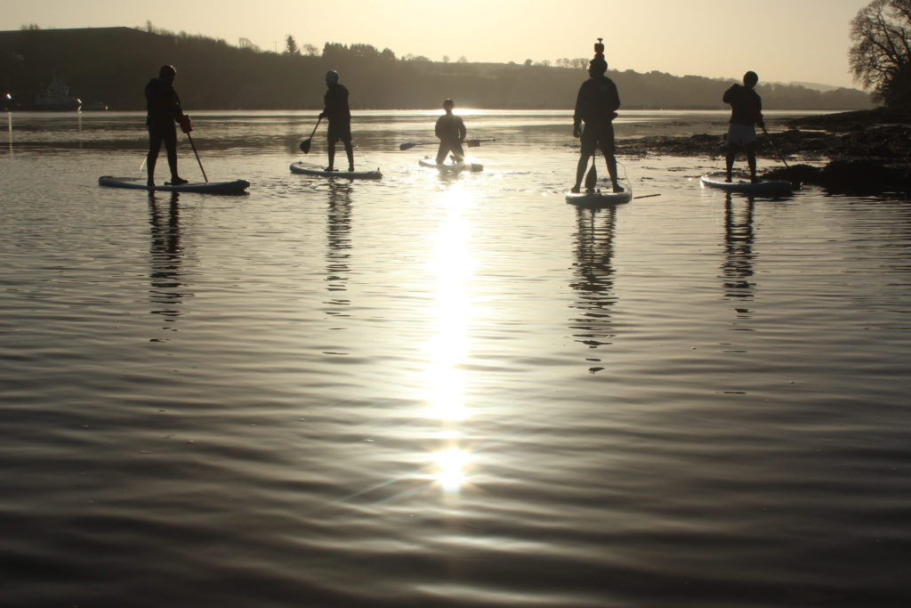 Far and Wild eco tourism - SUP in the sun
