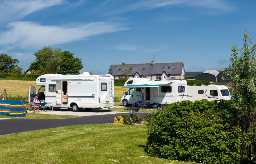 Ballyness Caravan Park on our North Antrim Coast in Bushmills, Northern Ireland