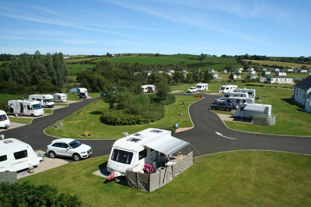Ballyness Caravan Park on our North Antrim Coast, at Bushmills.