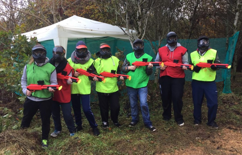 Breckenhill is an outdoor activity centre where you can enjoy paintball