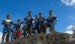 Mountain bikers at Davagh - Picture by Michael Regan MR Photography