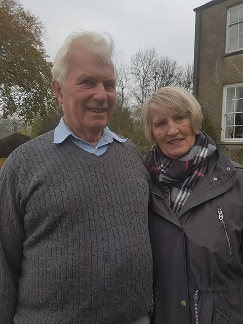 Gladys and Harold Smyth, of Largy Coastal Apartments - a Live It Experience It member