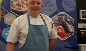 Chef Rob Curley of Slemish Market Supper Club