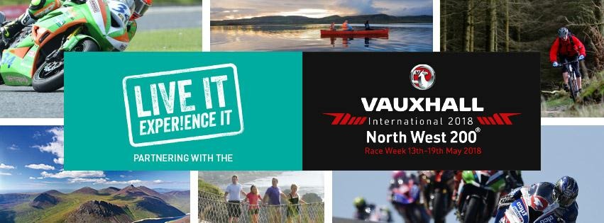 NW200 partner with Live It Experience It for 2018 - Ireland's biggest outdoor event