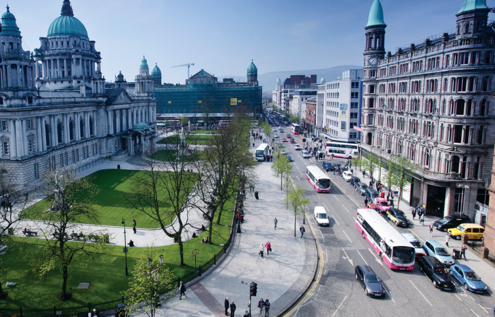 Enjoy touring Belfast on foot with Born To Run Tours