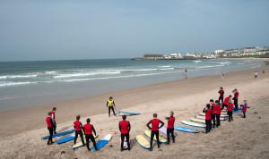 Surfing with Alive Surf School in Portrush Northern Ireland