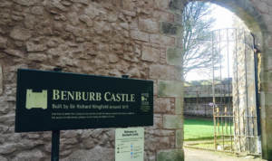 Live It Experience It Picnic Places - Benburb Castle in the grounds of the Benburb Valley Park Eco Trail where Live It Experience It feature it in the Live It Experience It Picnic Places series.
