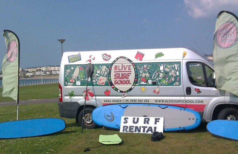 Alive Surf School - Surf, SUP, Rentals