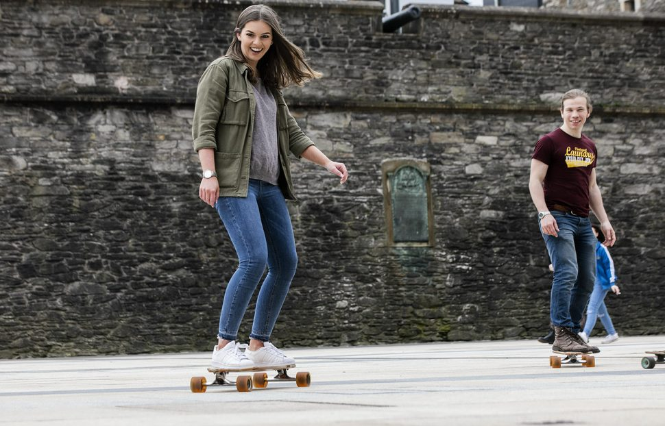Boom board tours in Derry with Far an Wild