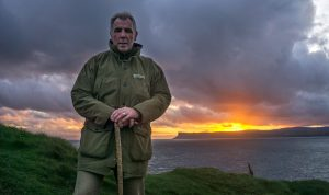 Mark Rodgers of Dalriada Kingdom Tours on our famous North Coast. IMG_2046