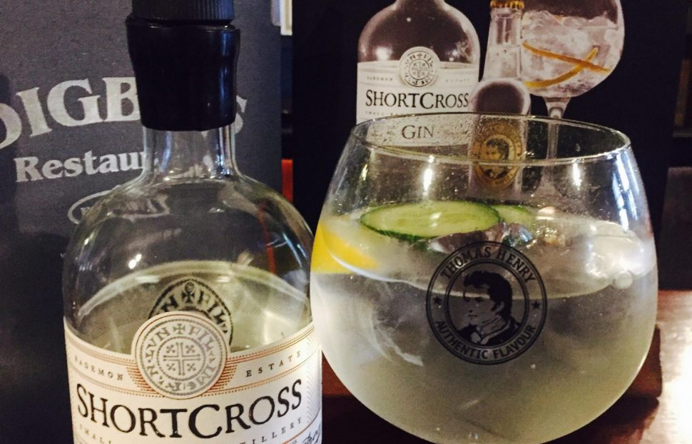 Digby's Bar & Restaurant - Shortcross Gin