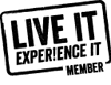 Live It Experience It Member Badge