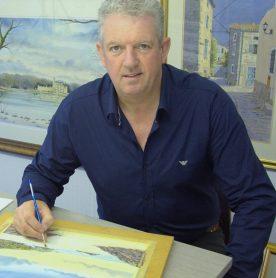 Artist Dermot Cavanagh
