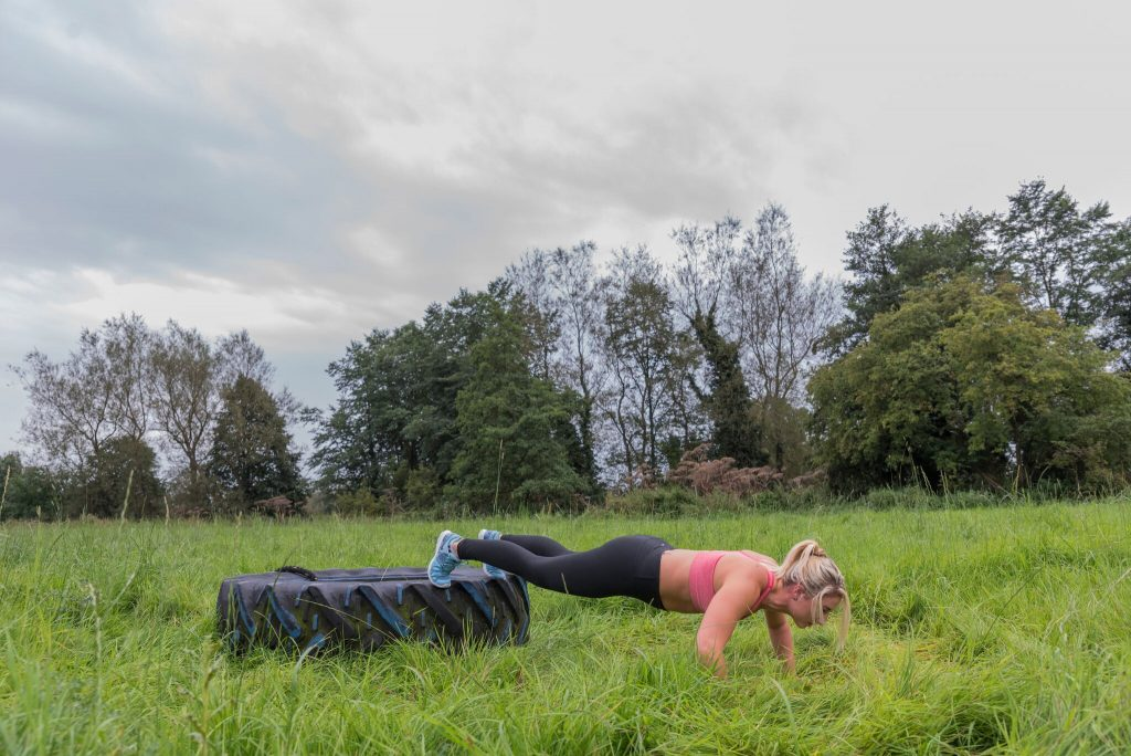 Rebecca Irwin of Go Fitness - taking training outdoor. Go Fitness is a Live It Experience It member