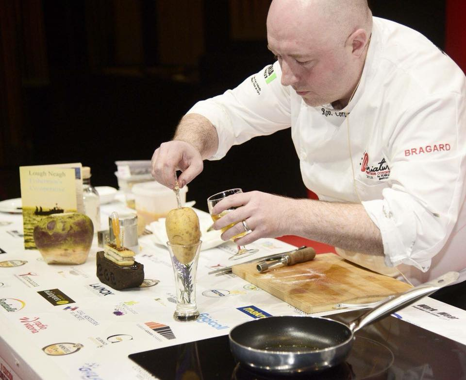 Chef Rob Curley at Miniature Pinxtos in the Basque Region