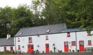 Liz Weir MBE owns Ballyeamon Barn Hostel
