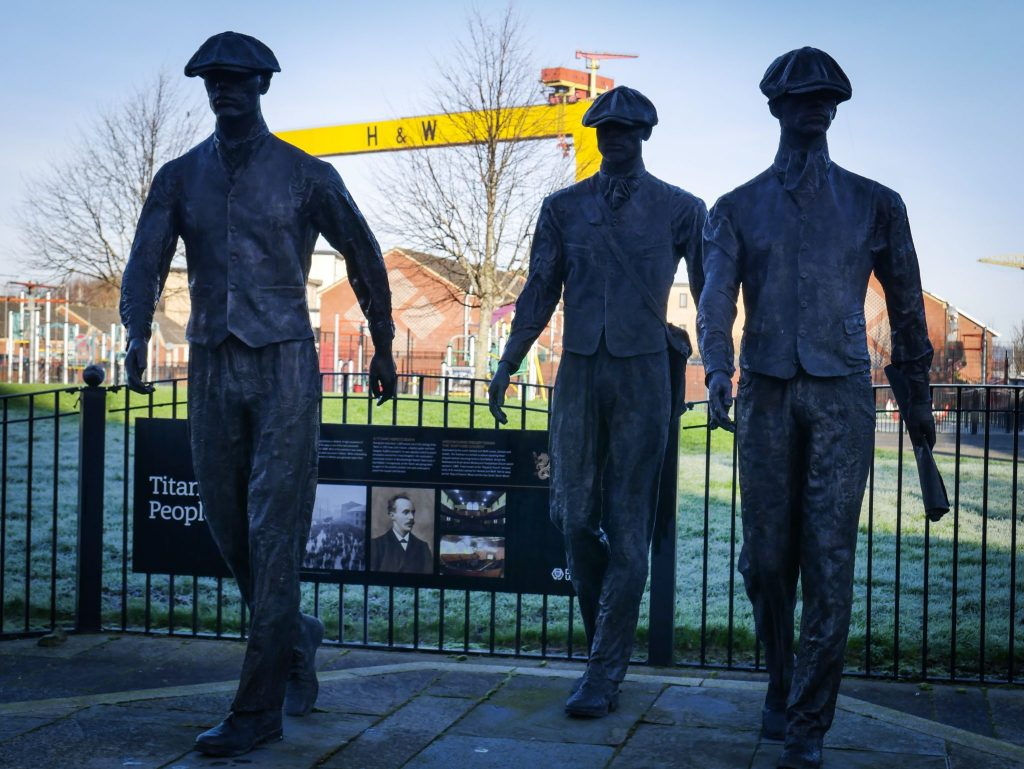 Born To Run Tours takes you to the most iconic sites in Belfast