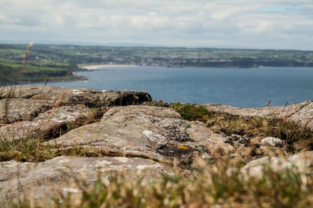 Fairhead Walk - Glens of Antrim with Nine Glens Walking Tours