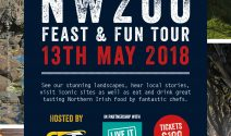 The NW 200 Feast and Food Tour - Celebrating Race Week and tourism businesses on the North Coast