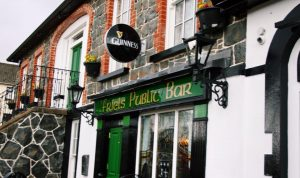 The front of Friel's Historic Bar & Restaurant in Swatragh