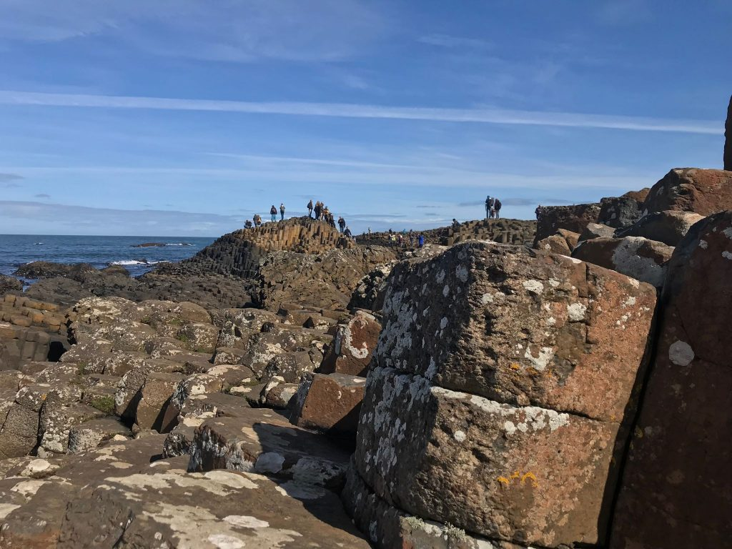 Cliff Path Walk with Dalriada Kingdom Tours from Dunseverick Castle remains to the world famous Giant's Causeway