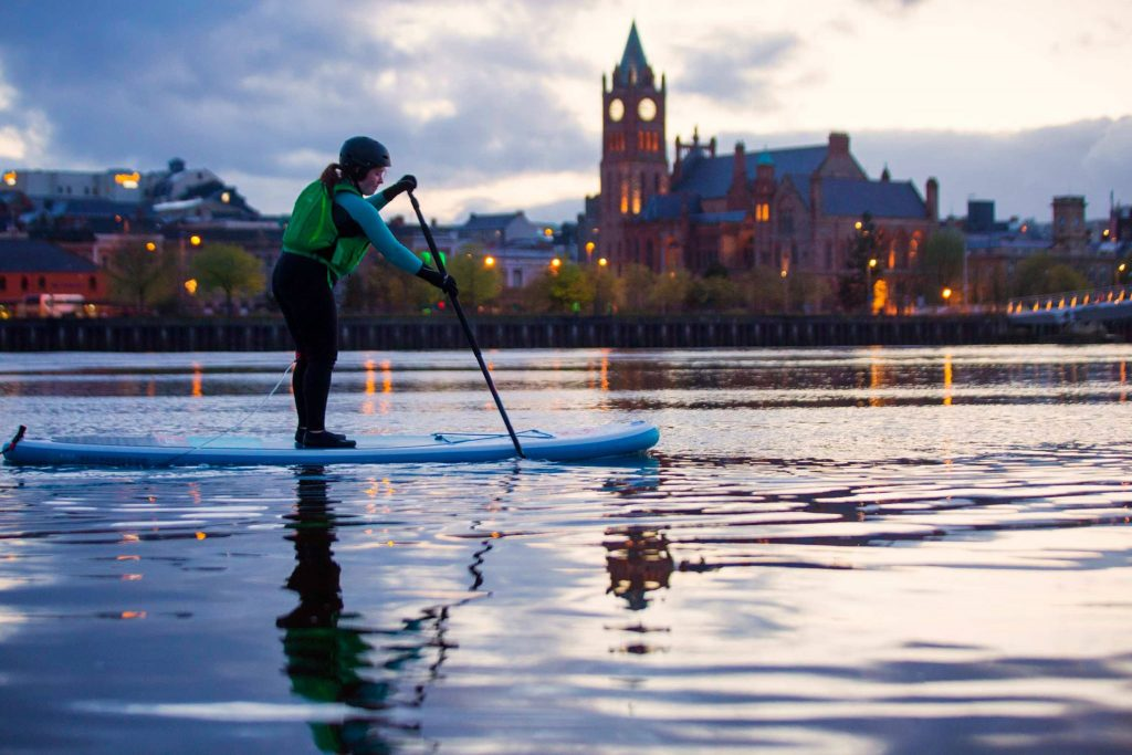 Far and Wild SUP Tours during the Foyle Maritime Festival - a Live It Experience It member