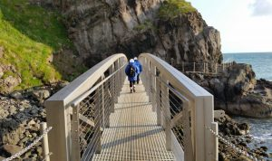 The Gobbins Cliff Path - by Virtual Visit Tours - a Live It Experience It member