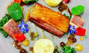 Dean Coppard's Dish - Best Use Of Local Ingredients