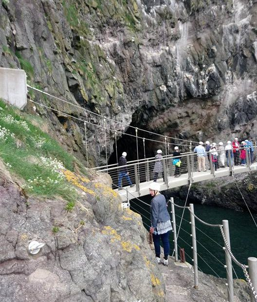 Walking The Gobbins with CraicNTour