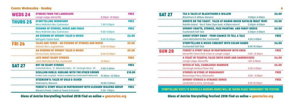 Glens of Antrim Storytelling Festival - Liz Weir