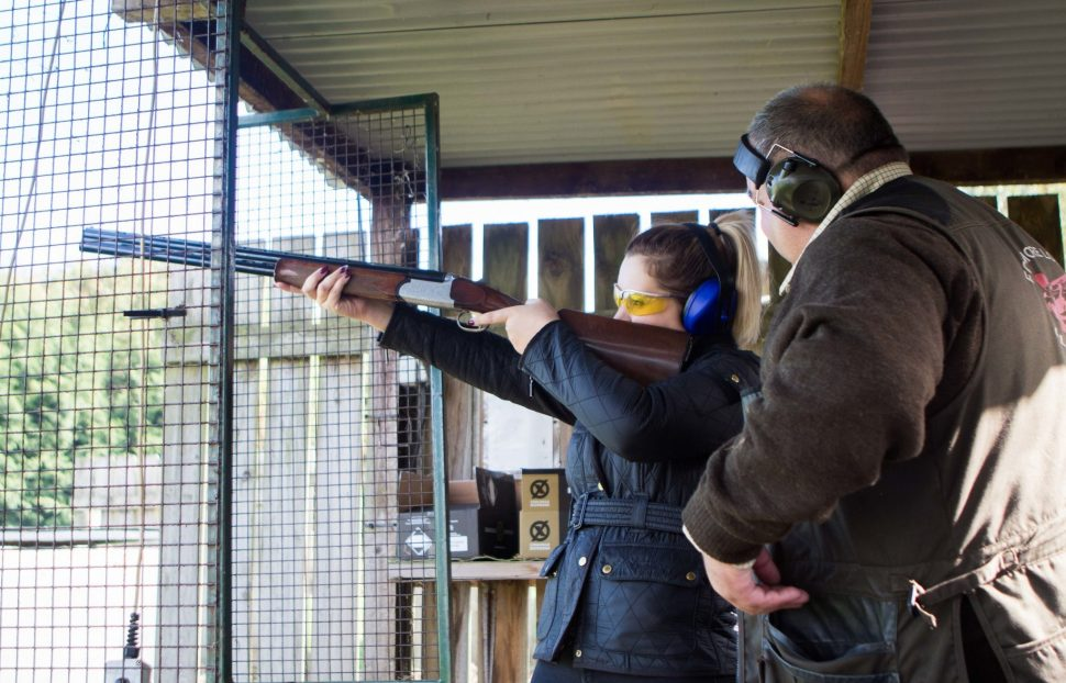 Try your hand at clay pigeon shooting, archery and air rifle shooting at Foymore Lodge, Co Armagh IMG_2373