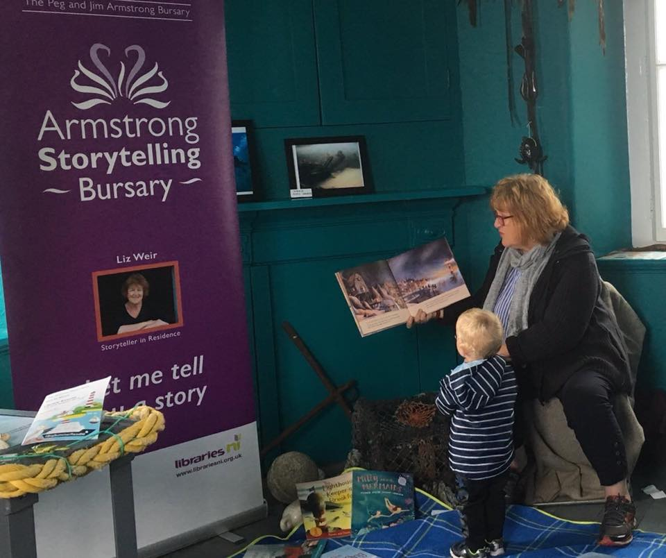 Liz Weir - the Armstrong Storytelling Bursary