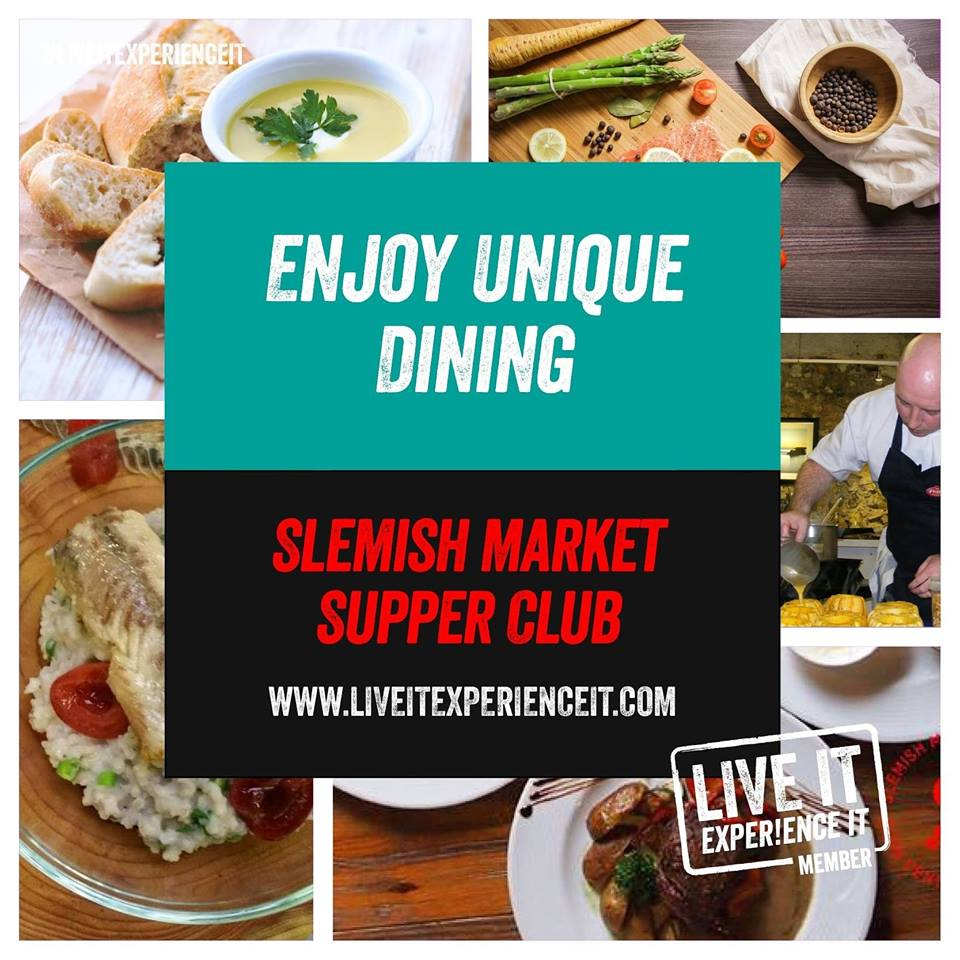 Visit Ballymena Slemish Market Supper Club with chef Robert Curley