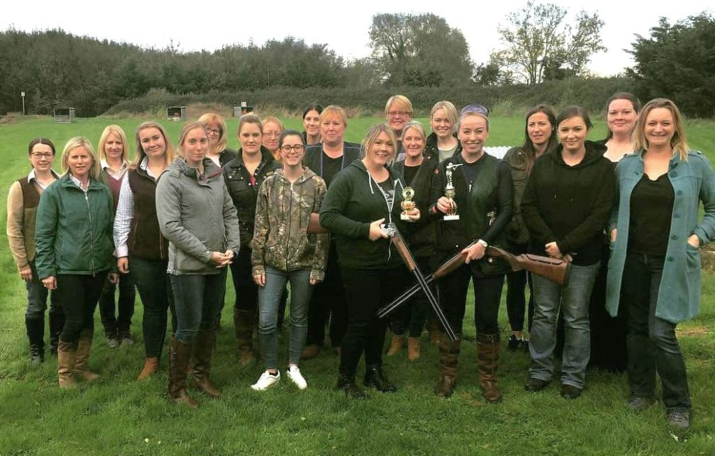 Ladies Day at Foymore Lodge - go clay pigeon shooting in Northern Ireland
