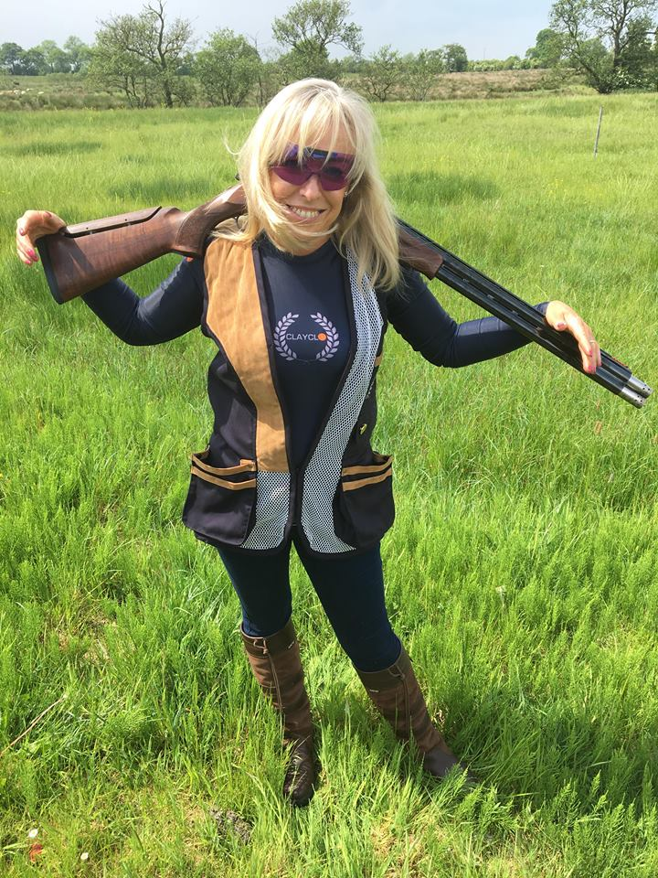 Louise Smylie who shoots for the NI Skeet team - clay pigeon shooting