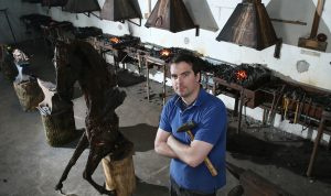 Eamonn Higgins of Hot Milk Forge - a Live It Experience It member