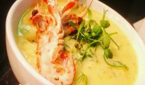 Seafood Chowder - A Dish From Dean