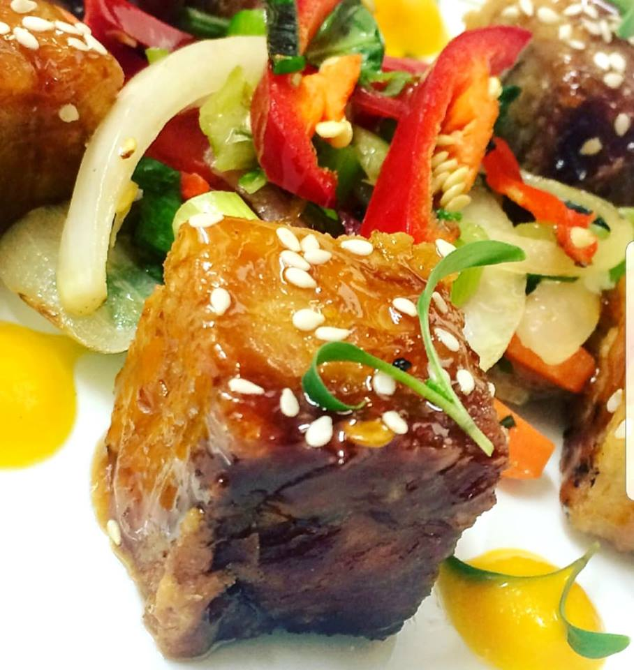 A Dish From Dean - Pork Belly Cubes