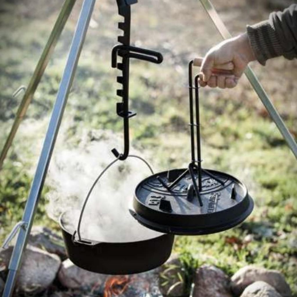Ireland Travel Blog - Cooking in the wild at Tipi Adventures Ireland